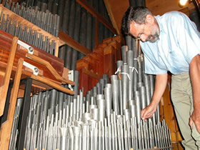 Intérieur de l'orgue ©AORA